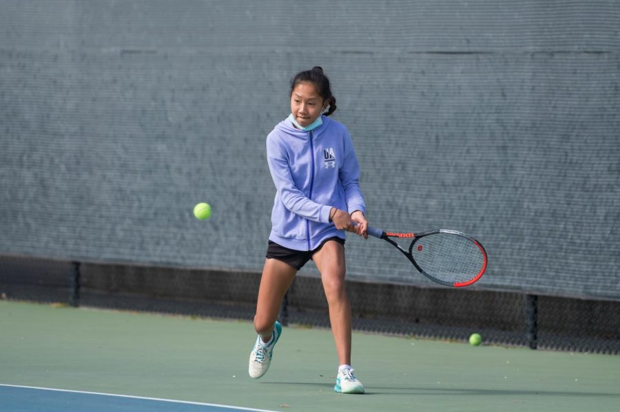 Paly Girls Tennis Defeated by Monta Vista