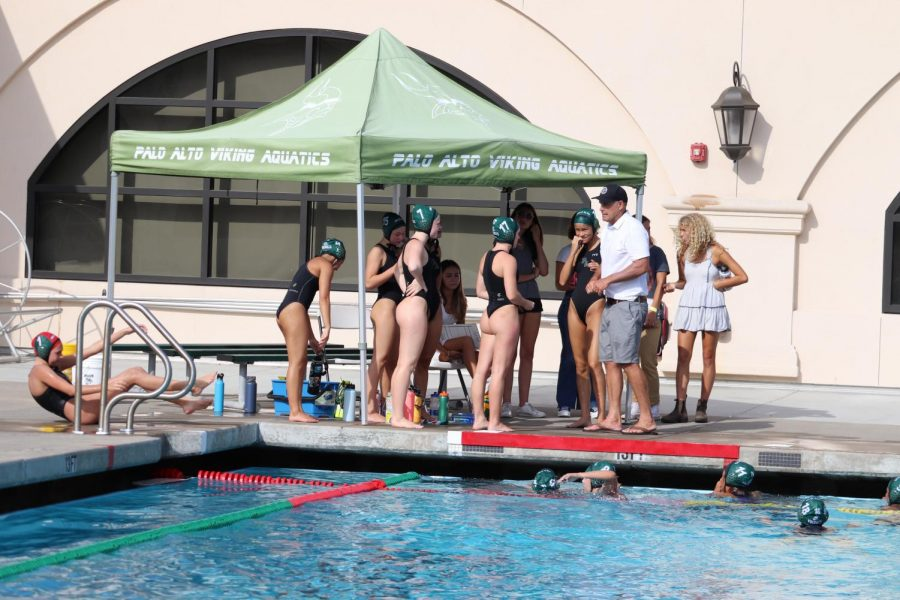 Girls Water Polo Crushes Homestead 16-2