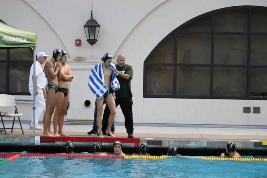 Boys Varsity Water Polo Defeats Mountain View 15-6