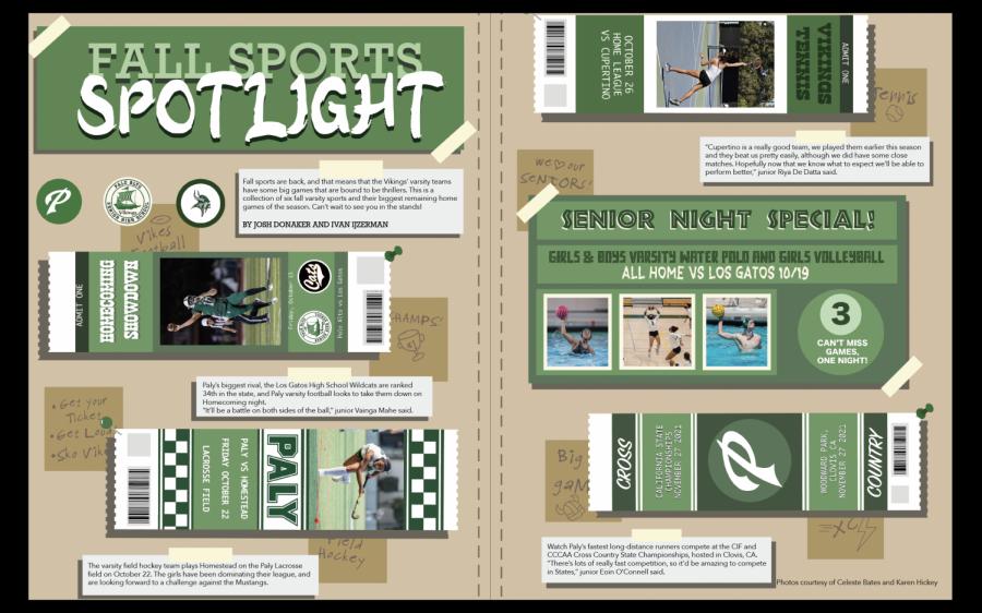 Fall Game Sports Spotlight